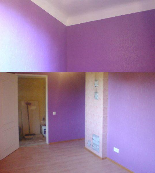 Špaktelēšana, slīpēšana, tapešu līmēšana, grīdas seguma maiņa dzīvoklī.